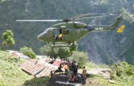 Tatopani-4 were airlifted to a safe place in Barhabise –  19 rescued