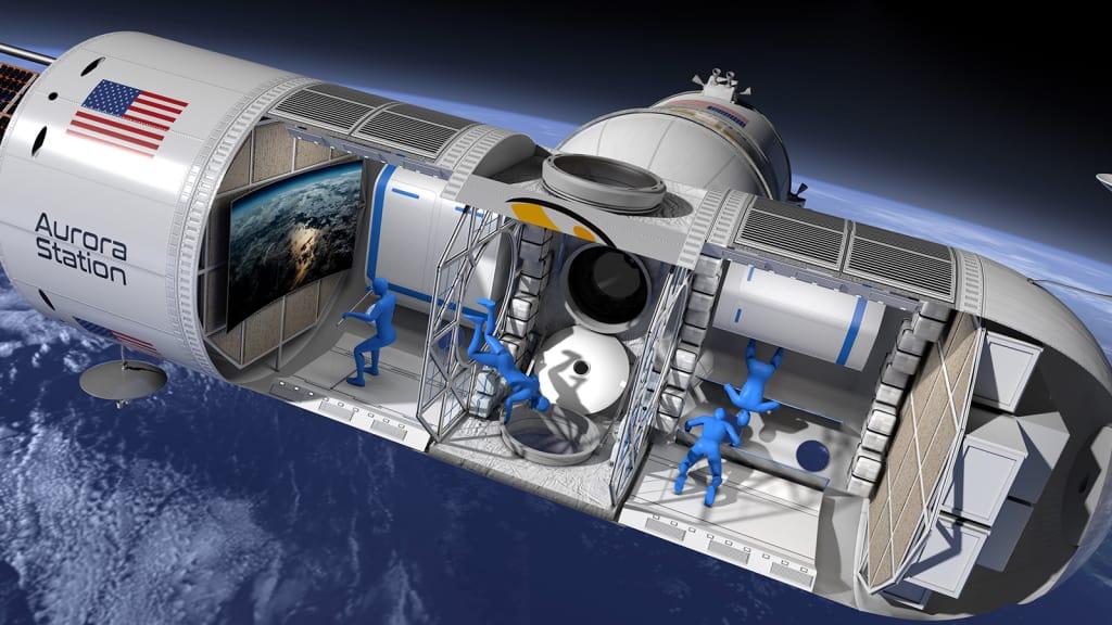 अन्तरिक्षमा विश्वकै पहिलो लग्जरी होटल बन्दैछ
