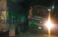 बस र ट्रक जुध्दा चालक सहित २ को मृत्यु